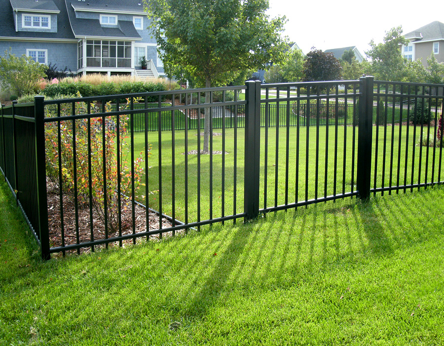 Double gates for bin storage by Reading Fencing